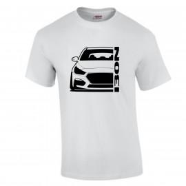 Hyundai I30N Outline Modern T-Shirt