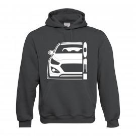 Hyundai I30 GD 2011-2017 Coupe Modern Hoodie