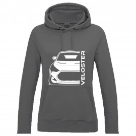 Hyundai Veloster FS Turbo Bj 2013 Outline Modern Hoodie Lady