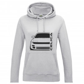 Toyota Celica T18 Outline Modern Hoodie Lady