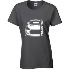 Hyundai Veloster FS Turbo Bj 2013 Modern Outline T-Shirt Lady
