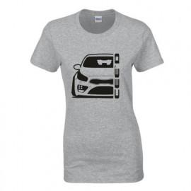 Kia Cee`d  2015 Outline Modern T-Shirt Lady