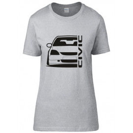 Honda Civic EP Outline Modern T-Shirt Lady