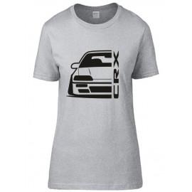 Honda Crx ED9 Outline Modern T-Shirt Lady