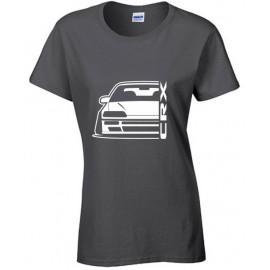 Honda Crx EE8 Outline Modern T-Shirt Lady