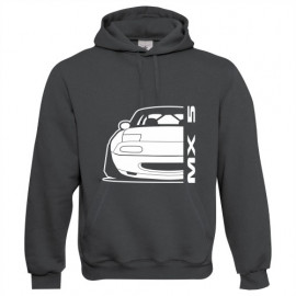 Mazda MX5 Outline Modern Hoodie