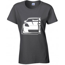 Nissan 350 Z Outline Modern T-Shirt Lady