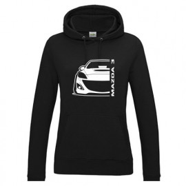 Mazda 3BL MPS Outline Modern Hoodie Lady