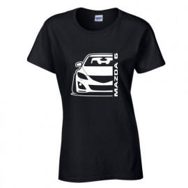 Mazda 6GH Outline Modern T-Shirt Lady