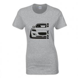Mazda RX8 R Outline Modern T-Shirt Lady