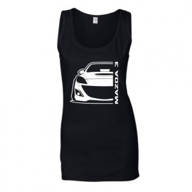 Mazda 3BL MPS Outline Modern Tank Top Lady