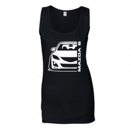 Mazda 6GH Outline Modern Tank Top Lady
