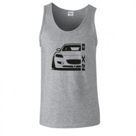 Mazda RX8 R Outline Modern Tank Top