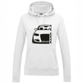 Audi A3 8P Outline Modern Hoodie Lady