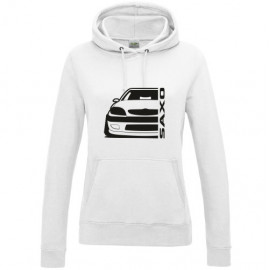 Citroen Saxo Vts Outline Modern Hoodie Lady