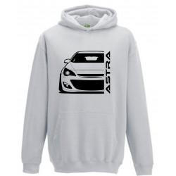 Opel Astra J Outline Modern Hoodie
