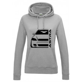 Opel Astra G OPC Outline Modern Hoodie Lady