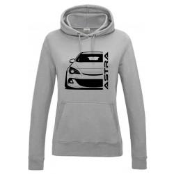Opel Astra J OPC Outline Modern Hoodie Lady