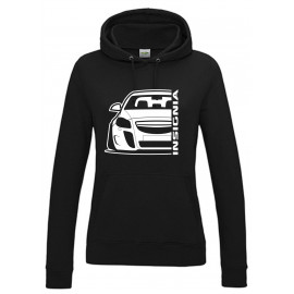 Opel Insignia OPC Outline Modern Hoodie Lady