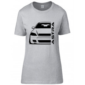 Opel Astra G OPC Outline Modern T-Shirt Lady