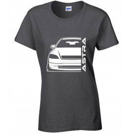Opel Astra G Outline Modern T-Shirt Lady