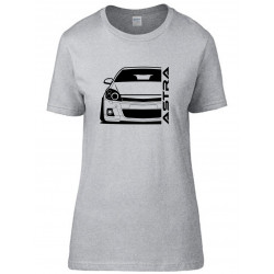 Opel Astra H OPC Outline Modern T-Shirt Lady