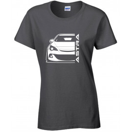 Opel Astra J OPC Outline Modern T-Shirt Lady