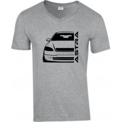 Opel Astra G Outline Modern V-Neck