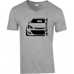 Opel Astra J Outline Modern V-Neck