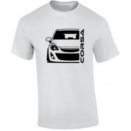 Opel Corsa D Outline Modern