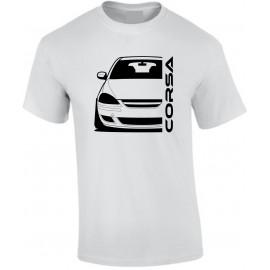 Opel Corsa D Diesel Outline Modern