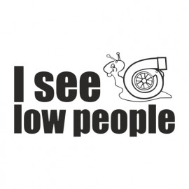 I see Low People