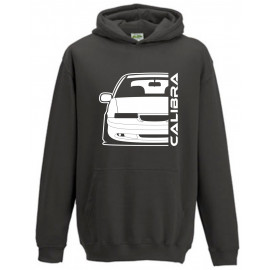 Opel Calibra Cliff Edition Outline Modern Hoodie