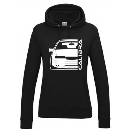Opel Calibra Cliff Edition Outline Modern Hoodie Lady