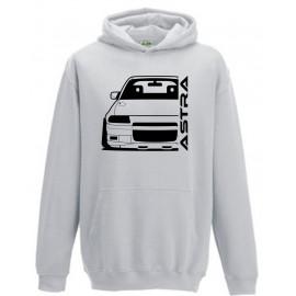 Opel Astra F GSI Outline Modern Hoodie