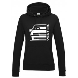 Opel Vectra A Modern Outline Hoodie Lady