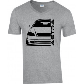 Opel Astra G Foglight Outline Modern V-Neck Lady