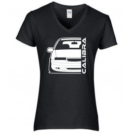 Opel Calibra Cliff Edition Outline Modern V-Neck Lady