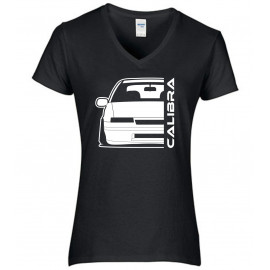 Opel Calibra Outline Modern V-Neck Lady
