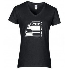 Opel Kadett E GSI Modern Outline V-Neck Lady