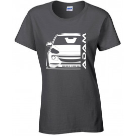 Opel Adam Outline Modern T-Shirt Lady