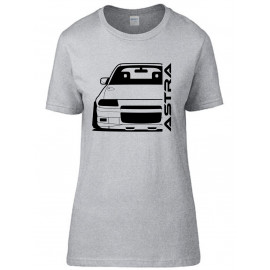 Opel Astra F GSI Outline Modern T-Shirt Lady