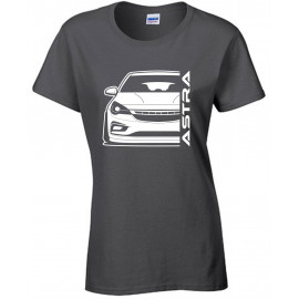 Opel Astra K Modern Outline T-Shirt Lady