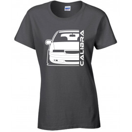 Opel Calibra Cliff Edition Outline Modern T-Shirt Lady