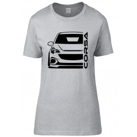 Opel Corsa E OPC Outline Modern T-Shirt Lady
