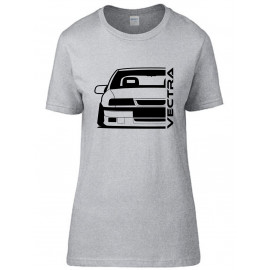 Opel Vectra A 2000 Outline Modern T-Shirt Lady