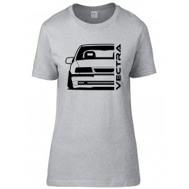 Opel Vectra A Modern Outline T-Shirt Lady