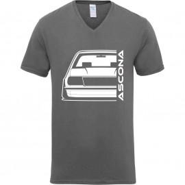 Opel Ascona B Outline Modern V-Neck