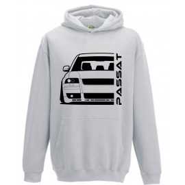 VW Passat 3BS W8 Outline Modern Hoodie