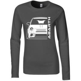 Fiat Abarth 595 2019 Outline Modern Longsleeve Lady